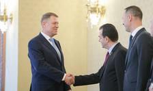 Președintele Klaus Iohannis primește delegația PNL la Cotroceni (Sursa foto: presidency.ro)