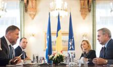 Consultări la Cotroceni, între preşedintele Klaus Iohannis şi liderii PSD (Foto: www.presidency.ro)