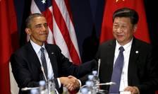 Preşedintele american, Barack Obama şi cel chinez, Xi Jinping (Foto: Reuters/Kevin Lamarque)