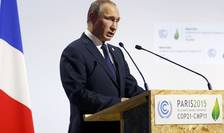 Preşedintele rus, Vladimir Putin, la COP21 (Foto: Reuters/Stephane Mahe)