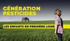 Copiii, primele victime ale pesticidelor...