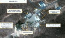 Imagini satelit cu situl de la Sohae (Coreea de nord) în 2 martie 2019
