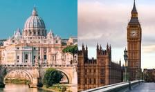 Bilanțul Coronavirus în Italia și în UK