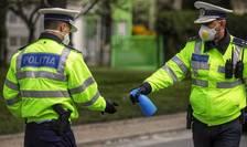 Polițiștii se plâng că nu au destule echipamente de protecție pentru perioada carantinei (Sursa foto: Facebook/Poliția Română)
