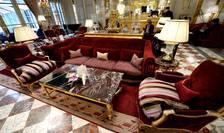 """Hotelul Crillon din Paris, unul din cele 8 """"palaces"""" din capiatala Frantei, e în renovare urmând sà-si redeschidà portile peste câteva luni"""
