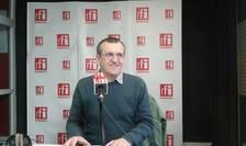Cristian Preda, în studioul RFI (Foto: arhivă RFI)
