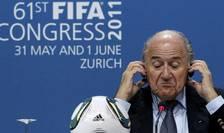 Preşedintele FIFA, Sepp Blatter (Foto: Reuters/Arnd Wiegmann)