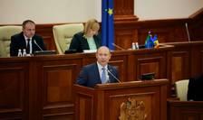 Premierul demis al Republicii Moldova, Valeriu Streleţ