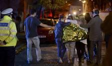 Supravieţuitori ai incendiului din clubul Colectiv (Foto: Reuters)