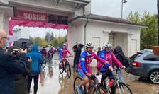 Cursa Casiopeea, la linia de finish, la sediul COSR (Sursa foto: Facebook/Ambasada Franței în România)