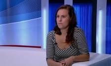 Dalma Dojcsak, de la Uniunea pentru Libertăți Civile din Ungaria.