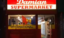 Supermarket românesc în Londra