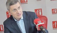 Dan Barna prezintă condoleanțe, după incendiul de la Matei Balș (Foto: arhivă RFI)