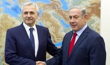Liviu Dragnea, primit de premierul israelian, Benjamin Netanyahu (Sursa foto: site PSD)