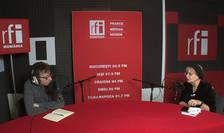 Dan Pârvu și Irina Margareta Nistor la RFI
