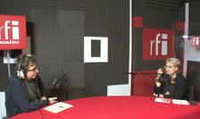 Dan Pârvu si Margareta Nistor in studioul de inregistrari RFI Romania