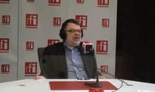 Daniel Barbu, în studioul RFI (Foto: Amedeo Achim)