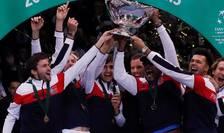 Echipa de tenis a Frantei câstigà pentru a 10-a oarà Cupa Davis, gratie victoriei lui Lucas Pouille în ultimul meci al partidei