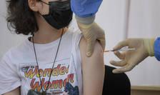 Copiii de peste 12 ani se pot vaccina anti-Covid-19 (Sursa: MEDIAFAX FOTO/Andreea Alexandru)