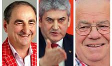 Vasile Muraru, Gabriel Oprea şi Alexandru Arşinel