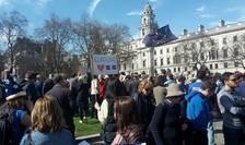 Demonstrație pro-UE în centrul Londrei