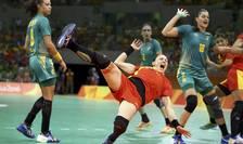 România, neputincioasă în faţa Braziliei, la meciul de handbal de la Olimpiadă (Foto: Reuters/Marko Djurica)