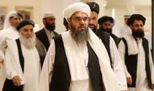 Membri ai delegatiei talibanilor veniti sà asiste la dialogul inter-afgan de la Doha, Qatar, în 7 iulie 2019