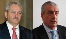 Liderii coaliției de guvernare, Liviu Dragnea (PSD) și Călin Popescu Tăriceanu (ALDE), decid soarta Guvernului Grindeanu