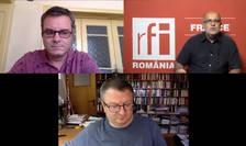 Conferinta pe Zoom cu Dragoș Mateescu, Ovidiu Nahoi și Armand Goșu
