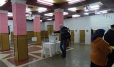 Votare la Comrat în Găgăuzia