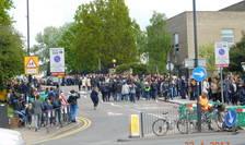 Coadă la votare în Wembley