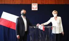 Președintele polonez Andrzej Duda a câștigat primul tur al alegerilor prezidențiale
