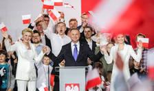 Preşedintele conservator al Poloniei, Andrzej Duda, a câștigat al doilea mandat