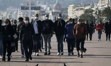 Duminică 21 februarie, pe Promenade des Anglais, Nisa.
