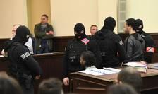 Imagini de la deschiderea procesului belgian al lui Salah Abdeslam
