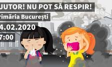 Marș pentru climă, vineri, în București (Sursa foto: Facebook/Fridays for Future Romania)