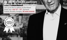 Afiș Elie Wiesel Study Tour, București 2018