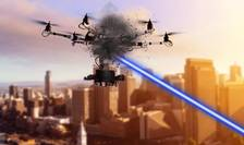 Este noua arma high-tech - laserul. Compania franceza CILAS dezvolta un sistem de anti-drone pe baza de laser.