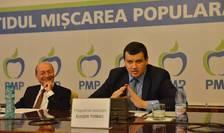 Eugen Tomac nu exclude o candidatură a lui Traian Băsescu la Primăria Capitalei (Sursa foto: www.pmponline.ro)