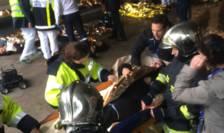 Simularea unui atentat pe Stade de France (Foto: RFI/Pierre Olivier)