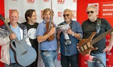 Ulli Brand, Mani Neumann, Ovidiu Lipan Țăndărică si Joschi Kappl, invitatii lui Valentin Panduru in emisiunea RFI360.