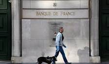 Fatada Bancii Nationale a Frantei, în plina perioada de coronavirus, 27 martie 2020, Paris.