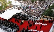 Urcarea covorului rosu la Cannes