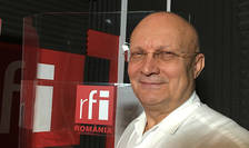 Florin Talpeş in studioul RFI Romania