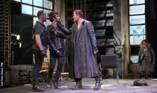Actorii Florin Calbajos, Eduard Adam, Ioan Andrei Ionescu - piesa Romeo și Julieta, TNB 2018
