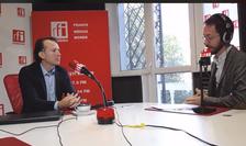 Florin Cîţu, în studioul RFI (arhivă)