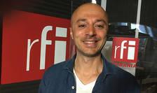 Andrei Roşu in studioul radio RFI Romania