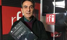 Horea Murgu in studioul de inregistrari al radio RFI Romania