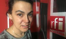 Maria Murgu in studioul RFI
