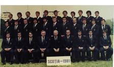 România în turneul din Scoția, 1981